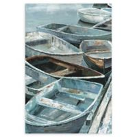 Masterpiece Art Gallery Rowing I 24-Inch x 36-Inch Canvas Wall Art