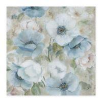 Masterpiece Art Gallery Pastel Garden I 24-Inch x 24-Inch Canvas Wall Art