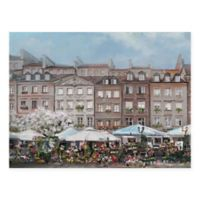 Masterpiece Art Gallery The Flower Market Portrait 30-Inch x 40-Inch Canvas Wall Art