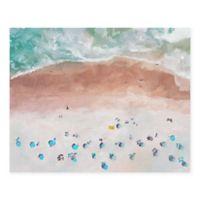 Masterpiece Art Gallery Beach View 22-Inch x 28-Inch Canvas Wall Art