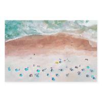 Masterpiece Art Gallery Beach View 24-Inch x 36-Inch Canvas Wall Art