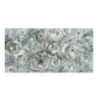 Masterpiece Art Gallery Climbing Roses 27-Inch x 54-Inch Canvas Wall Art