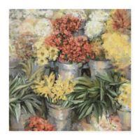Masterpiece Art Gallery Spring Market 24-Inch x 24-Inch Canvas Wall Art