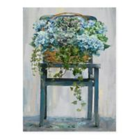Masterpiece Art Gallery Farmhouse Hydrangeas 18-Inch x 24-Inch Canvas Wall Art