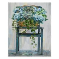 Masterpiece Art Gallery Farmhouse Hydrangeas 22-Inch x 28-Inch Canvas Wall Art
