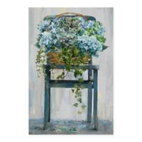Masterpiece Art Gallery Farmhouse Hydrangeas 24-Inch x 36-Inch Canvas Wall Art