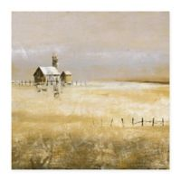 Masterpiece Art Gallery Alone 35-Inch x 35-Inch Canvas Wall Art