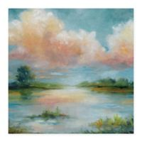 Masterpiece Art Gallery Quiet Spring 35-Inch x 35-Inch Canvas Wall Art