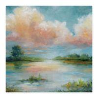 Masterpiece Art Gallery Quiet Spring 24-Inch x 24-Inch Canvas Wall Art