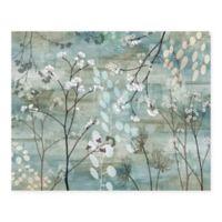 Masterpiece Art Gallery Blue Misty Woods 22-Inch x 28-Inch Canvas Wall Art