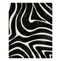 Masterpiece Art Gallery Lino Zebra Stripes 22-Inch x 28-Inch Canvas Wall Art