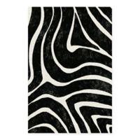 Masterpiece Art Gallery Lino Zebra Stripes 24-Inch x 36-Inch Canvas Wall Art