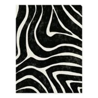 Masterpiece Art Gallery Lino Zebra Stripes 30-Inch x 40-Inch Canvas Wall Art