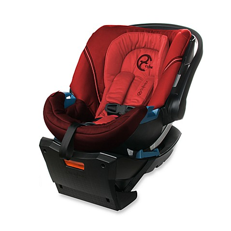 CYBEX Aton Infant Car Seat in Poppy Red