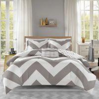 Mi Zone Libra Full/Queen Comforter Set in Grey