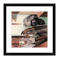 Car Detail 2 24-Inch Square Framed Wall Art