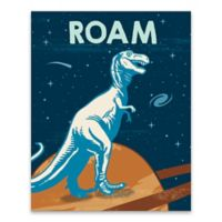 "Lot26 Studio ""Roam"" Dinosaurs 16-Inch x 20-Inch Wrapped Canvas"