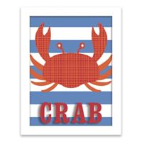 Lot26 Studio Crab 11-Inch x 14-Inch Framed Shadow Box Wall Art