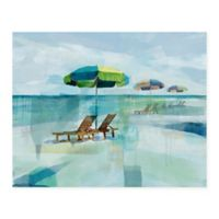 Masterpiece Art Gallery Seaside Morning 22-Inch x 28-Inch Canvas Wall Art
