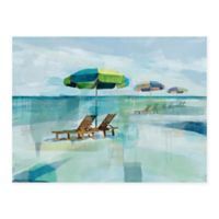 Masterpiece Art Gallery Seaside Morning 30-Inch x 40-Inch Canvas Wall Art