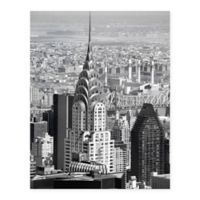 Masterpiece Art Gallery Chrysler Building 22-Inch x 28-Inch Canvas Wall Art