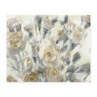 Masterpiece Art Gallery Rose Garden Golds 22-Inch x 28-Inch Canvas Wall Art