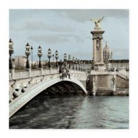 Masterpiece Art Gallery Paris #12 24-Inch x 24-Inch Canvas Wall Art