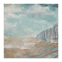 Masterpiece Art Gallery Coastal Shadows 24-Inch x 24-Inch Canvas Wall Art