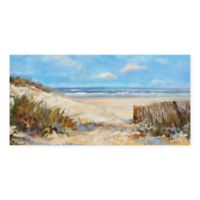 Masterpiece Art Gallery Seaside Colors 24-Inch x 48-Inch Canvas Wall Art