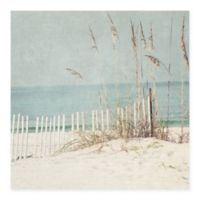 Masterpiece Art Gallery At the Beach 35-Inch x 35-Inch Canvas Wall Art