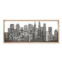 Madison Park™ City Skyline 47-Inch x 20-Inch Metal Wall Art
