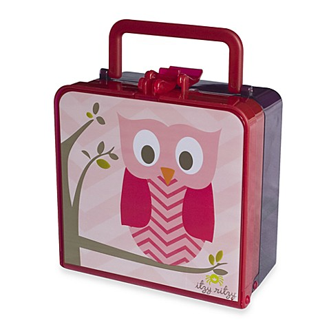 home itzy ritzy lunch happens bento lunch box in hoot from buy buy baby. Black Bedroom Furniture Sets. Home Design Ideas