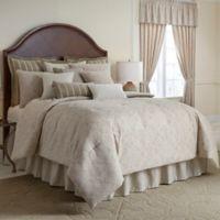 Rose Tree Laurenza Reversible Queen Comforter Set in Linen