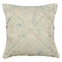 Rose Tree Placio 20-Inch Square Throw Pillow in Seafoam