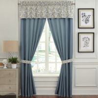 Rose Tree Placio 84-Inch Rod Pocket Window Curtain Panel Pair