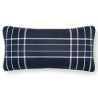 Laundry by SHELLI SEGAL® Cameron Oblong Throw Pillow in Navy