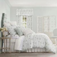 Piper & Wright Eva Reversible Queen Comforter Set in Spa