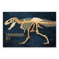 Lot26 Studio Tyranasaurus Dinosaur 36-Inch x 24-Inch Wrapped Canvas