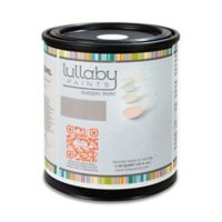 Lullaby Paints 1 qt. Eggshell Nursery Wall Paint in Buttercake