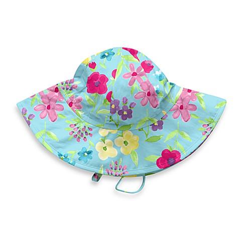 Girls' Swimwear > i play® Blue Floral Sun Hat from Buy Buy ...