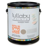 Lullaby Paints 1 Gallon Semi-Gloss Nursery Wall Paint in Classic Taupe