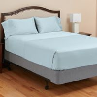 MyPillow® 400-Thread-Count King Sheet Set in Light Blue