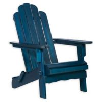 Forest Gate Folding Adirondack Chair in Navy