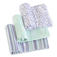 Burt's Bees Baby® Floral Forest Organic Cotton Muslin 3-Pack Swaddle Blankets