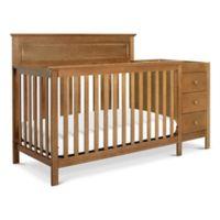 DaVinci Autumn 4-in-1 Crib & Changer Combo in Slate