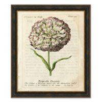 Vintage Floral I Framed Print Wall Art