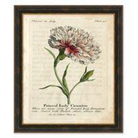 Vintage Floral II Framed Print Wall Art