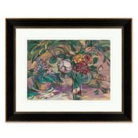 Purple Rose Framed Print Wall Art