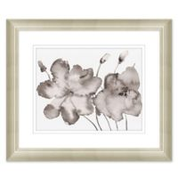 Floral Wash 27.5-Inch x 23.5-Inch Paper Print Framed Wall Art