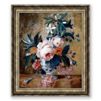 Antique Florals II 34.75-Inch x 40.75-Inch Framed Print Wall Art